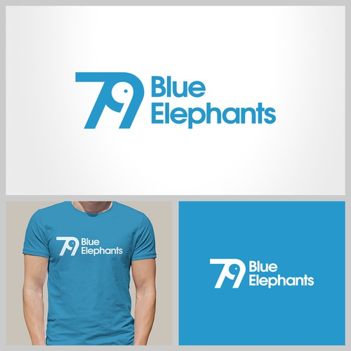 79 Blue Elephants