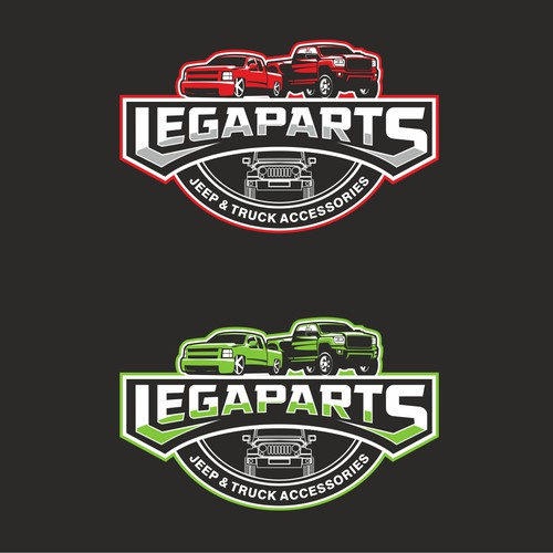 New logo for truck accessories store