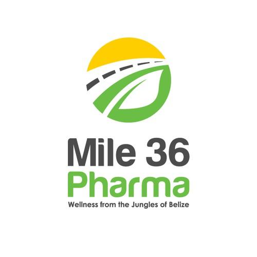 Logo Design for Mile 36 Pharma