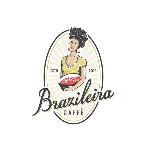 Logo for Brazileira Caffè