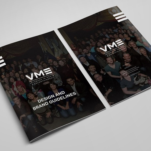 Brand Guide for military veterans group