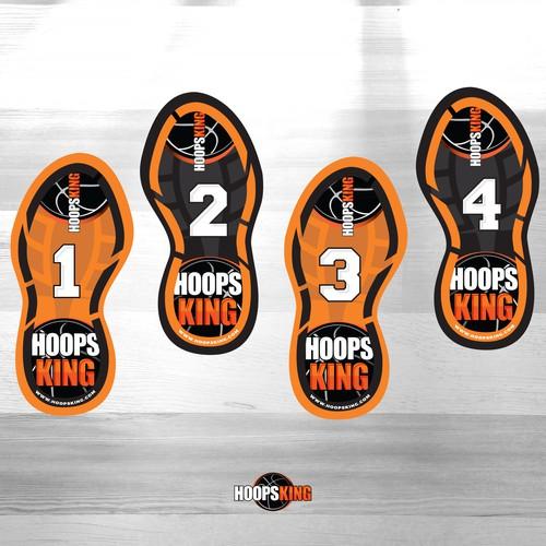 HoopsKing stickers