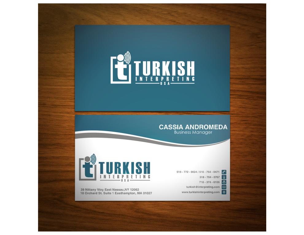 Create a winning logo for Turkish Interpreting in USA