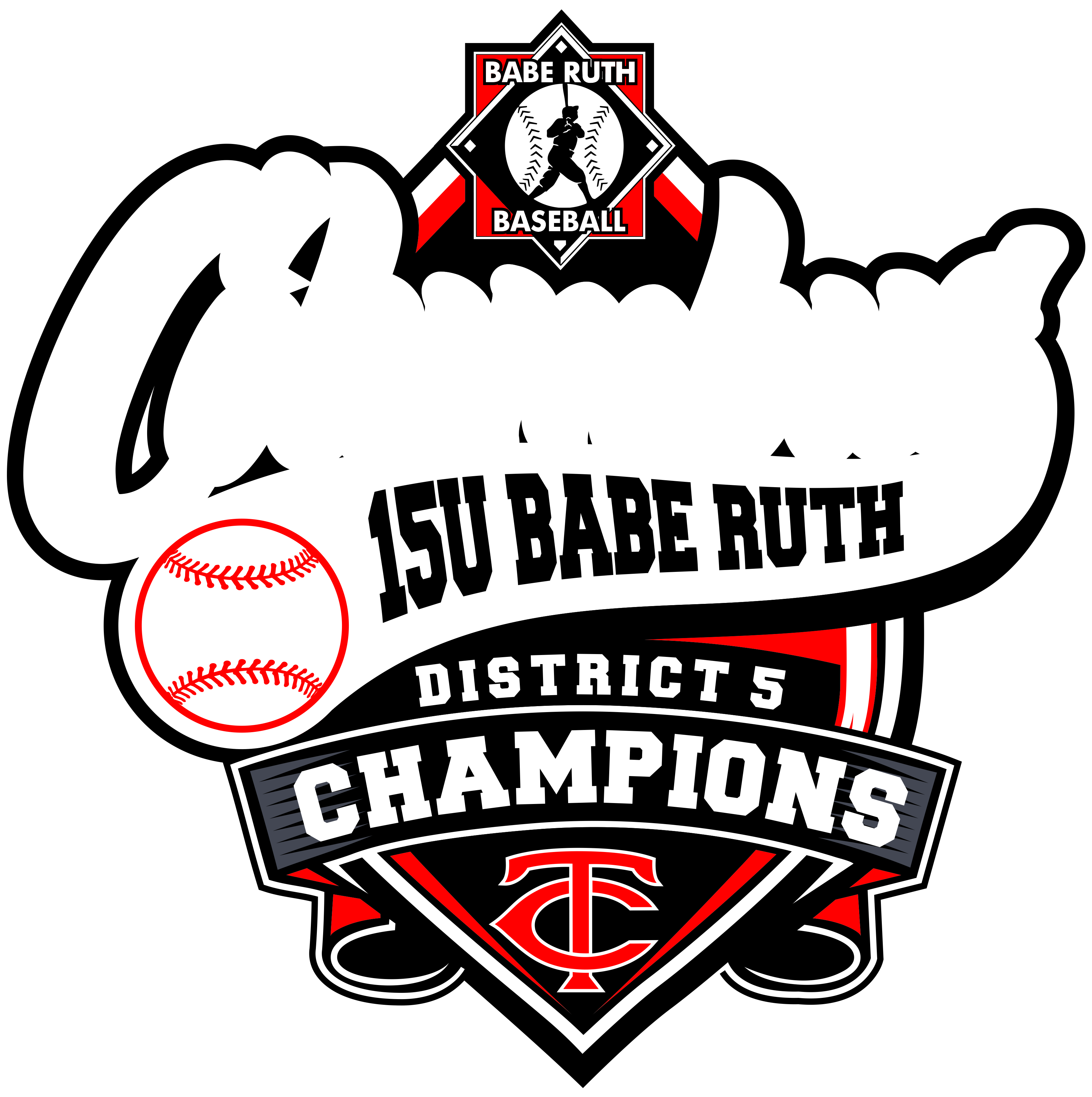Columbus 15U Babe Ruth District 5 Champions