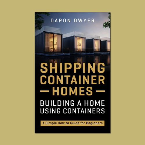 Shipping container homes - Cover design