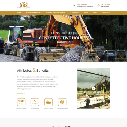 Design for Construction company