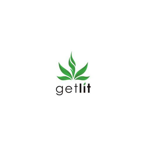 Elegant & fun logo for GETLIT