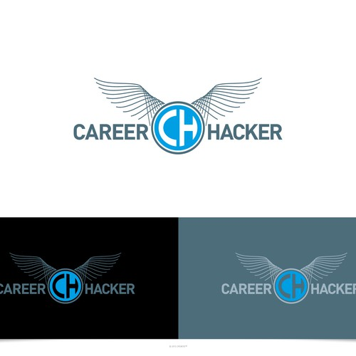 Logo and branding for career advice website
