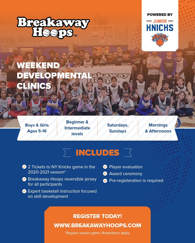 2020 -2021 Weekend Clinic Flier
