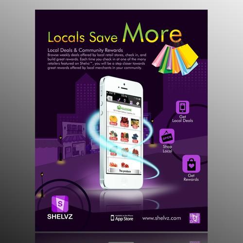 Flyer Design for Shelvz