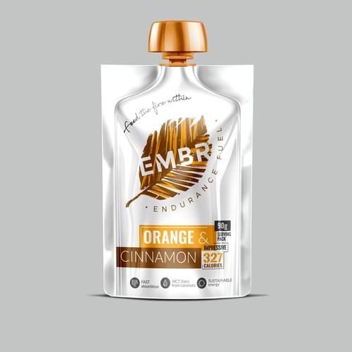 EMBR - Endurance Fuel Label design