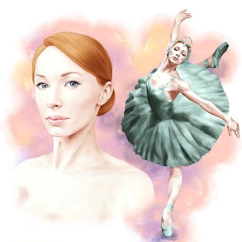 Ilustración para bailarinas