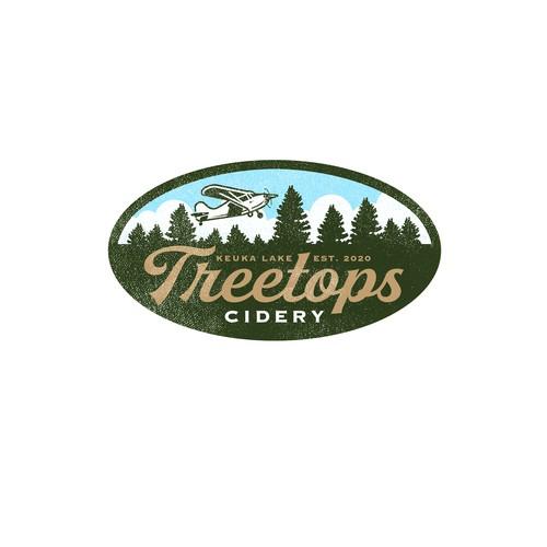Treetops Cidery Logo