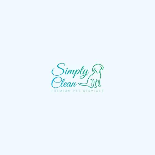 """Logo concept for """"Simply Clean"""" Premium Pet Services"""
