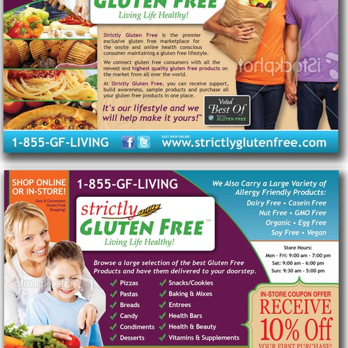 The Gluten Free Industry is Booming...are you creative enough to design a postcard for us? 2 Winners will be awarded