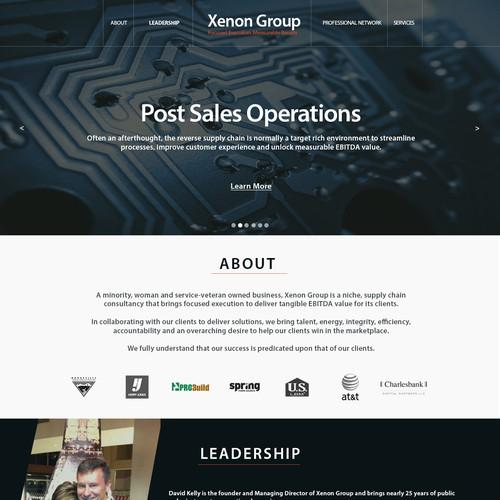 Xenon Group Website