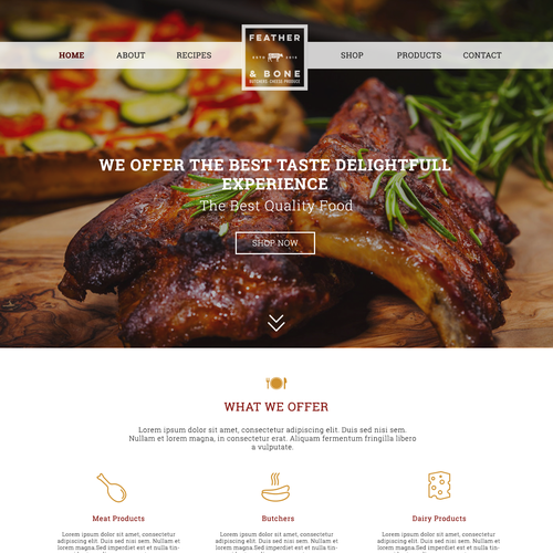 Food Retail Site