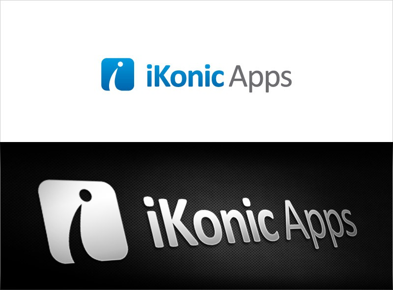 Create the next logo for iKonic Apps