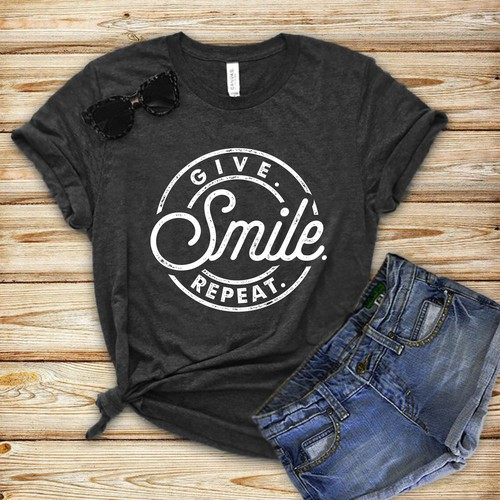 Smile T-shirt Design