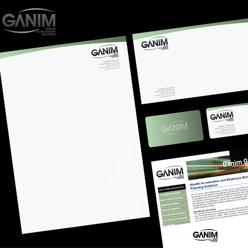 New logo wanted for Ganim Group, Inc.