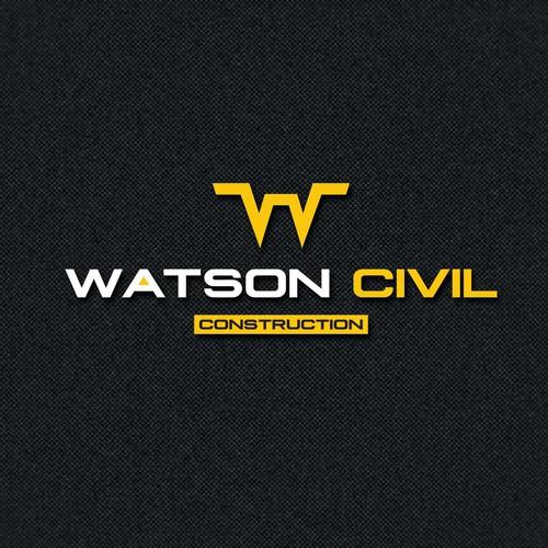Logo Concept Watson Civil