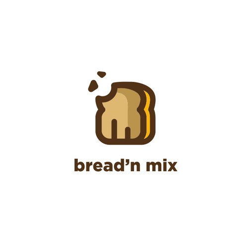 UNIQUE AND CLEAN DESIGN LOGO FOR TRADITIONAL BREAD INDUSTRY