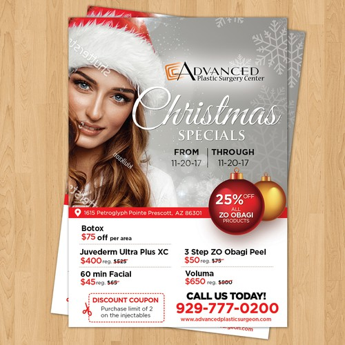 Advanced Plastic Surgery Center -Flyer
