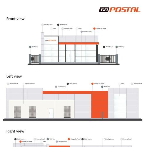 Go Postal Color Scheme-for-Headquarters