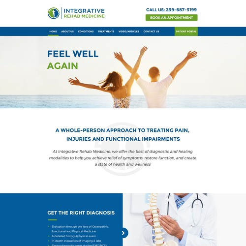 Integrative Rehave Medicine Website