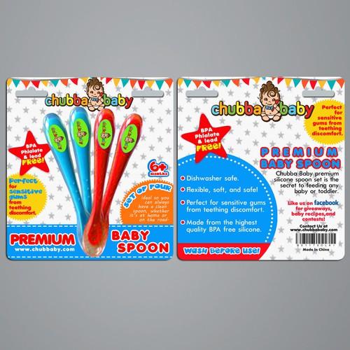 Baby Spoon Packaging Design