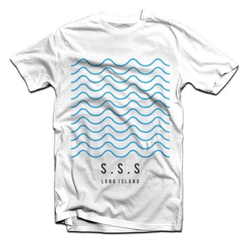 T-shirt graphic for surf lifestyle brand SouthSeaSwell