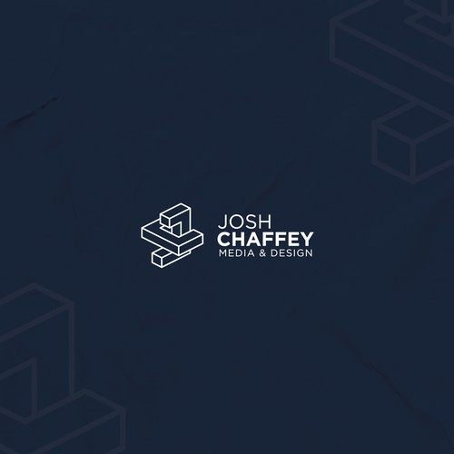 Isometric JC monogarm logo for Josh Chaffey