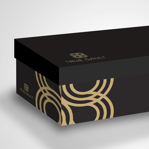 Create the shoe box design of the brand which will change the waywomen see shoes