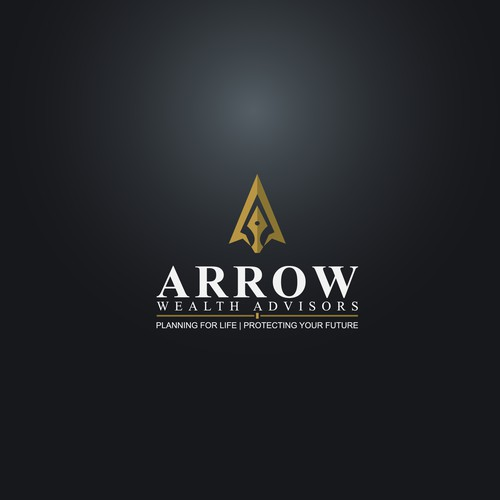 "Logo Design For ""ARROW Wealth Advisors"""
