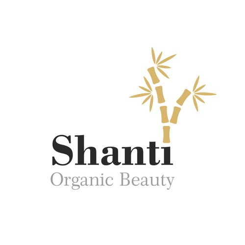Create a beautiful logo for a luxury line of natural beauty products.