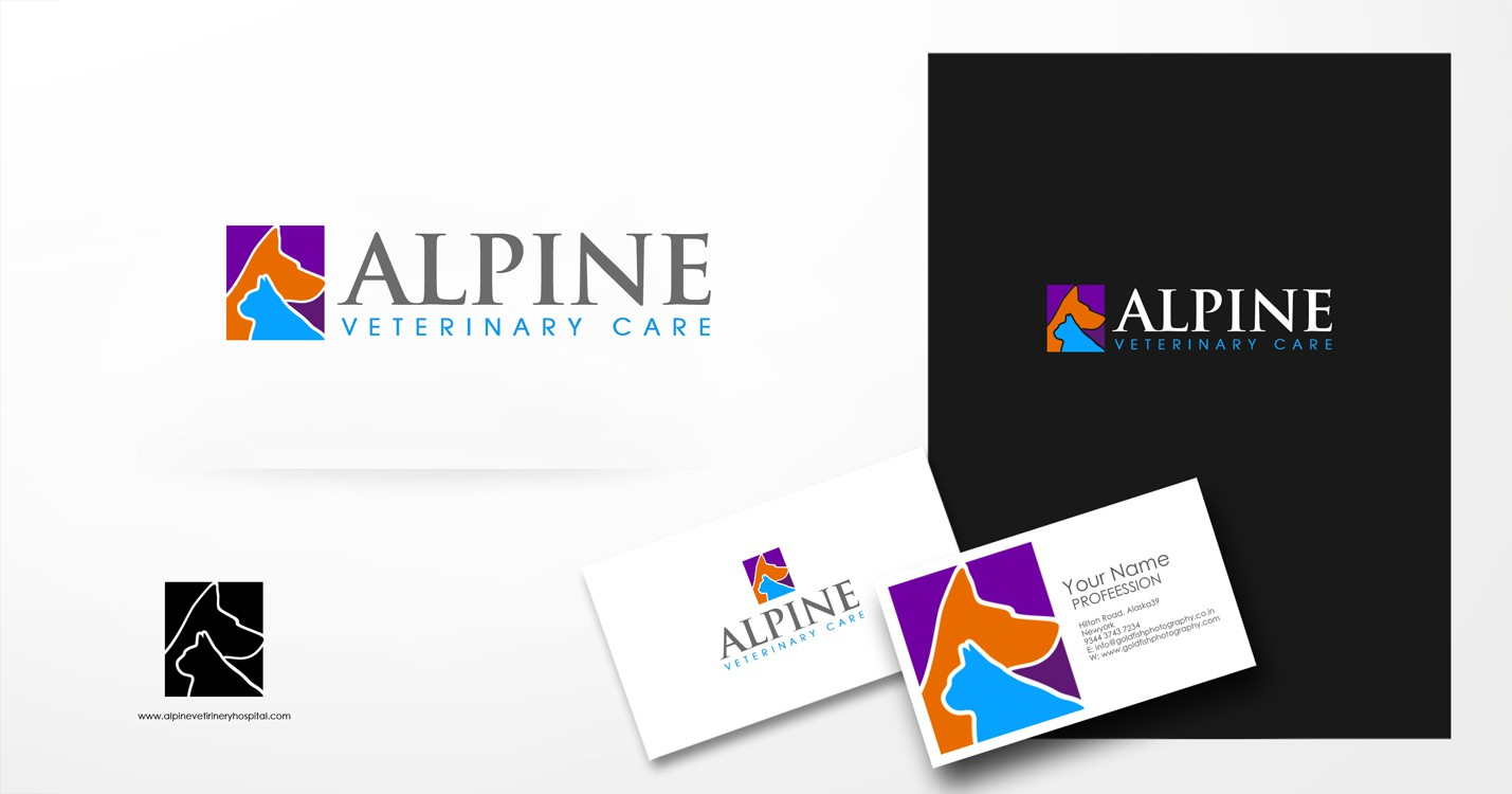 Help ALPINE VETERINARY CARE with a new logo
