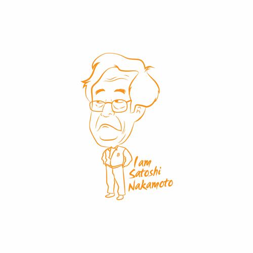 I am Satoshi Nakamoto Bitcoin T-Shirt Design
