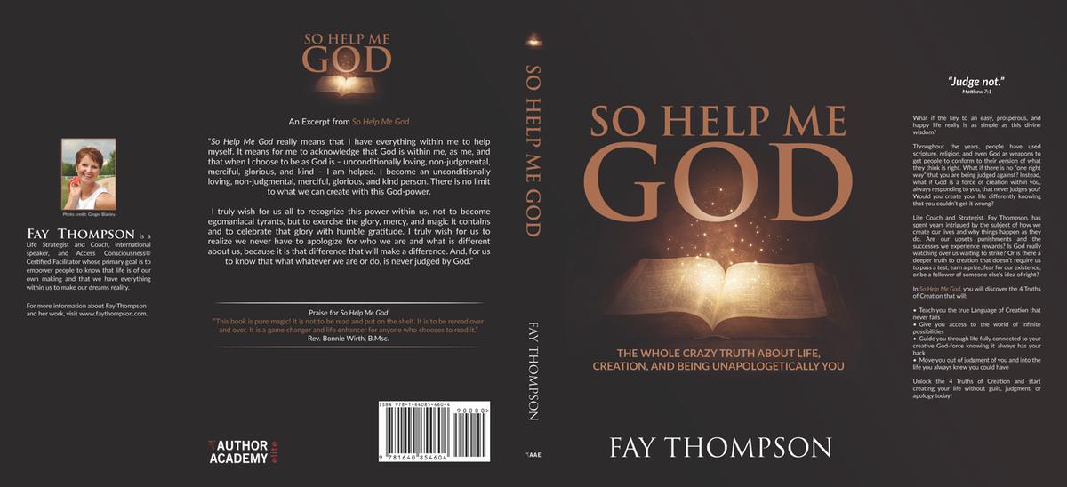 Hardcover book cover, audio book cover, e-book cover