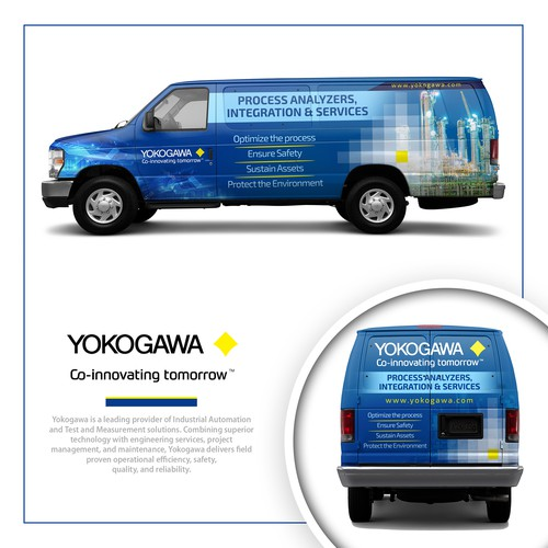 Van Design For Yokogawa Corporation of America