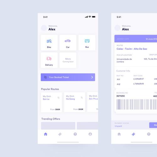 Travel Booking App UI/UX Design