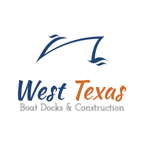 Simple logo concept for Boat Docks & Construction