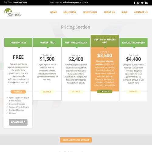 Build Pricing Page for a Growing SaaS Company - Award Winner Guaranteed!