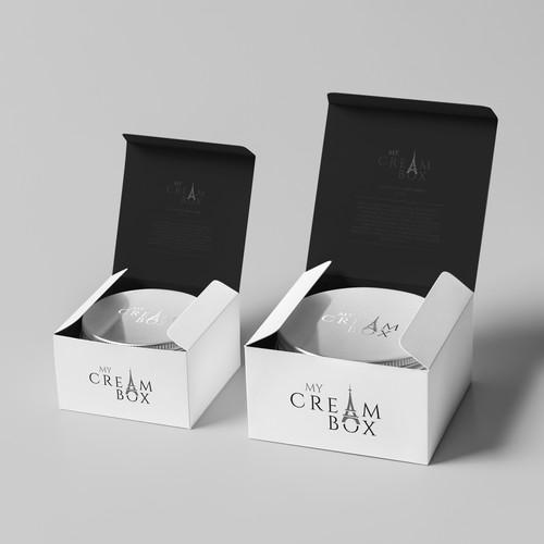 Logo My Cream Box