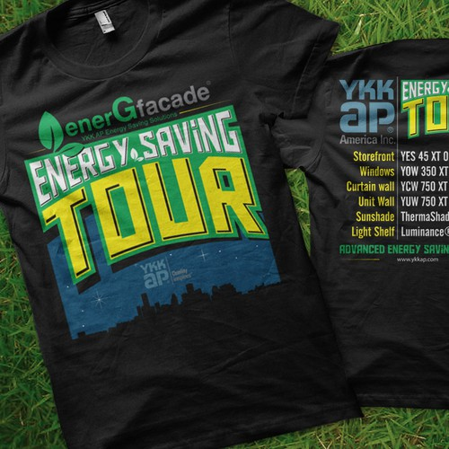 Help YKK AP America with a new t-shirt design