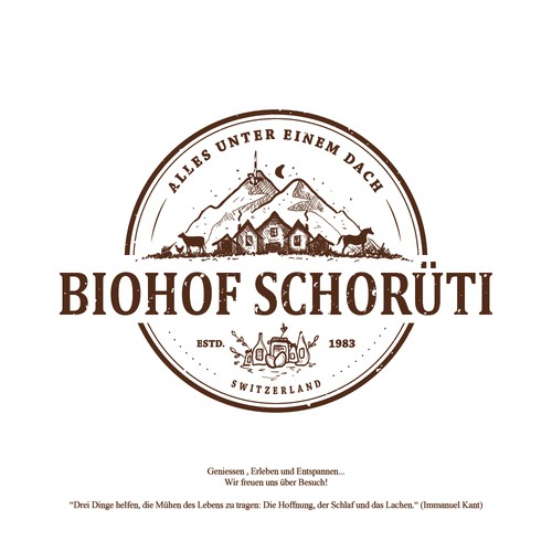 Logo for Biohof Schorüti