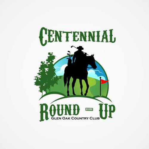 100th Annual Round-Up Logo