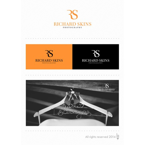 Logo concept for Richard Skins Photography