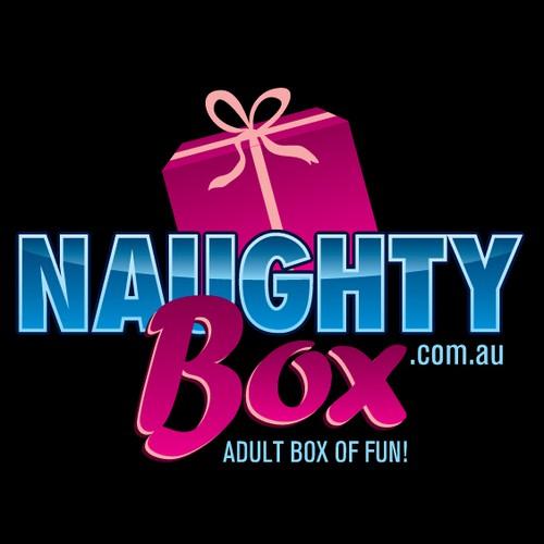 The naughty box need a creative logo designed!