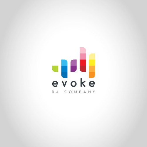 Logo concept for Evoke DJ Company