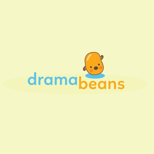 Cutesy logo for Drama Review Site